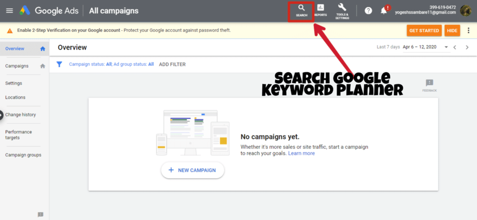 creating high quality content google keyword planner