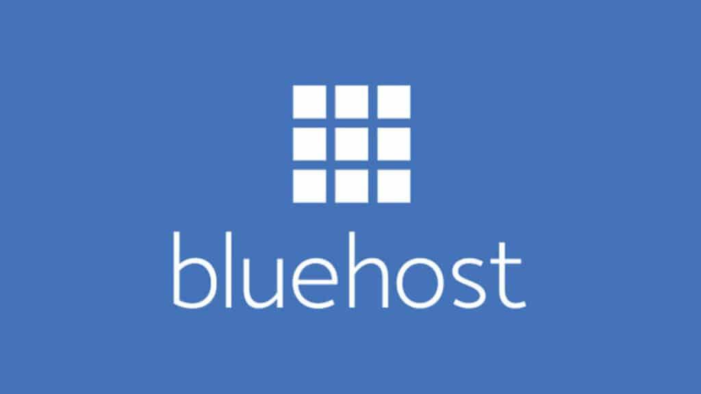 Its a Bluehost hosting company Logo