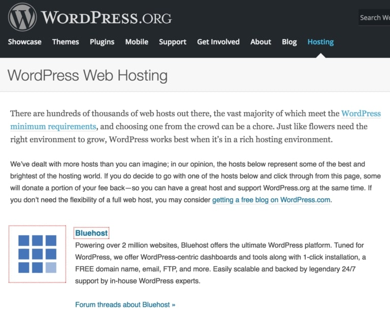 Bluehost-WordPress-Recommended-host