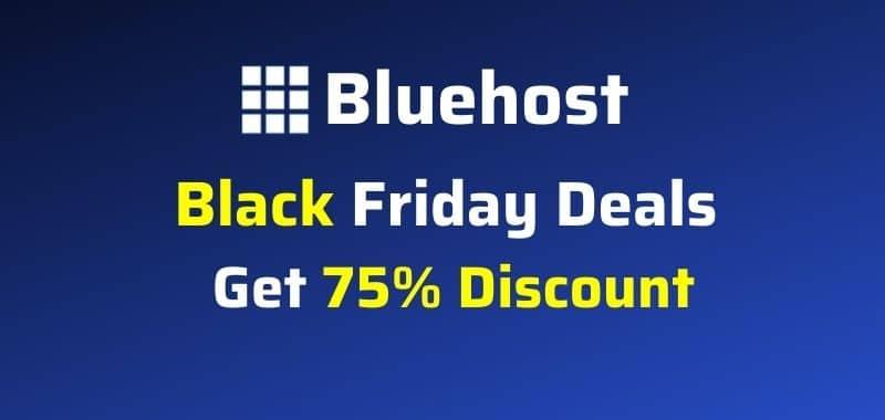 bluehost black friday deals 2021