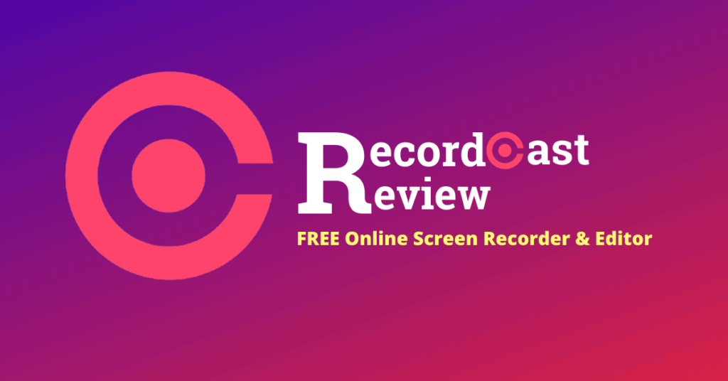 Recordcast review by bloggingscan