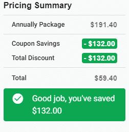 pricing summary