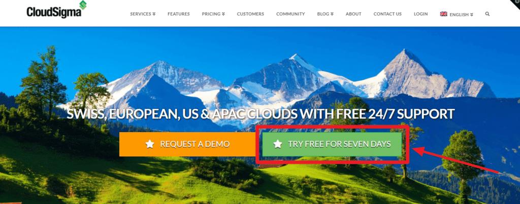 CloudSigma Free Trial