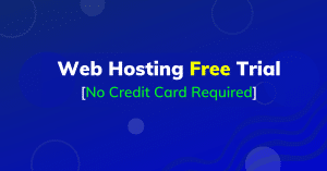 Web Hosting Free Trial