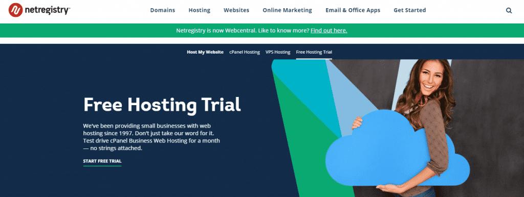 Netregistry free trial