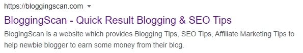 bloggingscan blog description