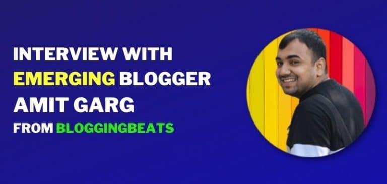 interview with amit garg