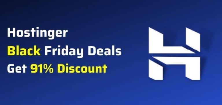 hostinger black friday deals 2021